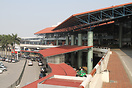 Entrance of the domestic terminal at Hanoi Airport HAN