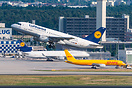 Lufthansa Cargo MD-11 D-ALCG and EAT Leipzig/DHL Boeing 757 D-ALEH in ...