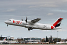 First ATR 72-600 for HOP! Air France, will be registered F-HOPY