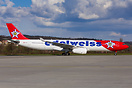Edelweiss A330-300 HB-JHQ taxying in ZRH