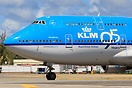 KLM 95 years sticker