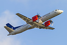 This Saab 2000 SE-KXK is in the full colour scheme of Scandinavian Air...