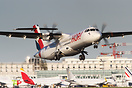 HOP! ATR 72-500 taking off from Paris Orly in bound for Clermont-Ferra...