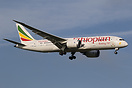 "The Dreamliner carries a ""50 years 2013 Year of Pan Africanism, and Af..."