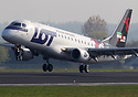 The latest Embraer deco livery from LOT Polish Airlines promoting the ...