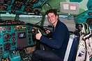 Original cockpit turned into a simulator - pilot Felix Gottwald after ...