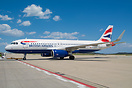 First British Airways Airbus A320 with sharklets