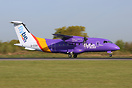 G-CCGS is the first of the Dornier 328 fleet to wear the new Flybe sch...