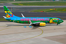 Paradiesvogel is the name of latest Tuifly logojet with Haribo Tropifr...