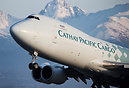 With the amazing Alaskan range as a backdrop Cathay Cargo's World Trad...