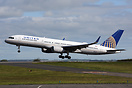 'United 159' lifts off at the start of its journey on the Newcastle - ...