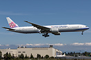 China Airlines Boeing 777-300 - cn 43980 / ln 1307 B-18022 first fligh...