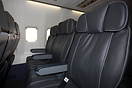 The very nice refurbished seating on first Boeing 737 for Cello Aviati...