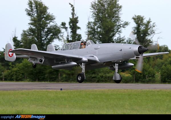 F+W C-3605 (HB-RDH) Aircraft P...