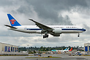 Latest China Southern Cargo Boeing 777 on her way back from painting i...