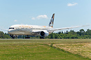 Etihad's latest Boeing 787-9 Dreamliner A6-BLE departing on its first ...