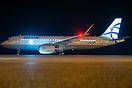 First Aegean Airlines Airbus A320 with sharklets