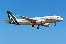 Alitalia in a new color scheme  with this A320 covering the signatures...