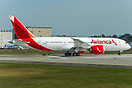 Avianca's first 787-8 dreamliner on her first flight