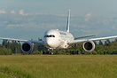 Japan Airlines latest Boeing 787-8 Dreamliner on its delivery flight t...