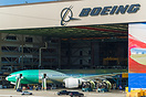 EVA Air's 777-300ER getting its final assemblies done before rolling o...