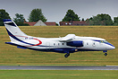 Dornier 328JET OY-JJG is a recent delivery to Sun-Air of Scandinavia a...