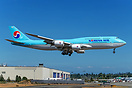 Korean Air Lines first 747-8 Intercontinental (cn 40905 / ln 1506) on ...