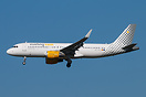 """Keep smiling, Fly Vueling"""