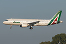Alitalia new colors with employee signatures...