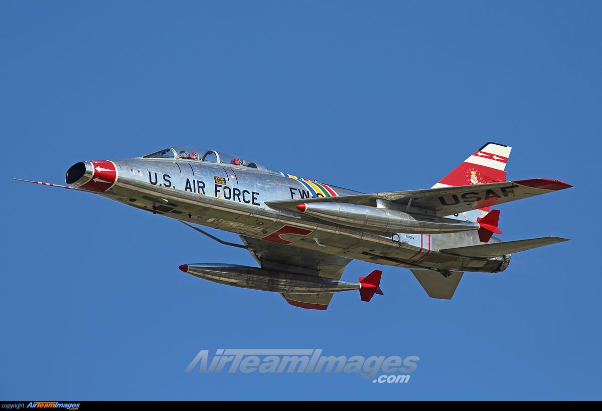 F-100F Super Sabre - Large Preview - AirTeamImages.com