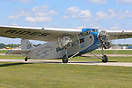 This Ford Trimotor was used for pleasure flights at EAA AirVenture 201...