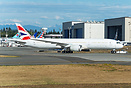 First look of G-ZBKA British Airways First Boeing 787-9 Dreamliner on ...