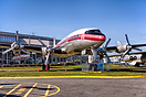 Museum of flight, Boeing Field, Seattle. The aircraft wears original T...