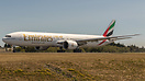 Emirates Boeing 777-31H(ER) A6-EPA - cn 41087 / ln 1087 in test flight...