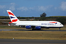 British Airways used South Africa's King Shaka International Airport a...