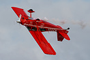 Flown by air show stunt pilot Greg Koontz.