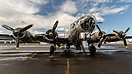 "Commemerative Air Force Boeing B-17G 483514 ""Sentimental Journey"" on d..."
