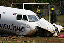 Crashed after take off from Durban International Airport. Three on boa...