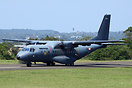 This French Air Force Casa C-235 from 50 Transport Squadron in Reunion...