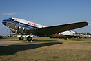 Built as a C-47 in 1942, USAAF# 41-38596, and restored & painted in th...