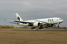 On delivery the first 777-200LR for PIA