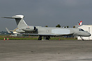 Gulfstream, N849GA,is the first of two G550AEW aircraft for the Italia...
