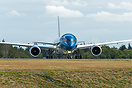 Head on of the third and latest 787-9 dreamliner for Vietnam airlines ...