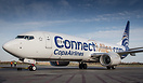 Copa Airlines new B738, with ConnectMiles.com title on the fuselage, r...