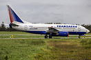 One of the many ex Transaero Airlines aircraft now in storage at Shann...
