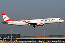 First Embraer 195 for Austrian Airlines. Until the end of 2017, 17 Emb...