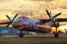 An-24, the symbol of Kiev-Zhulyany airport for almost 40 years of its ...