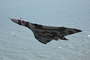 Vulcan XH558 passing Beachy Head on her run in to display at Eastbourn...