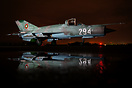 Bulgarian Air Force Mig 21 waiting  for her next mission.