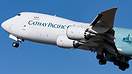 Close up view as Cathays 748F Hong Kong Trader departs Anchorage from ...